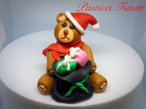 Tutorial orsetto di Natale in pasta di zucchero