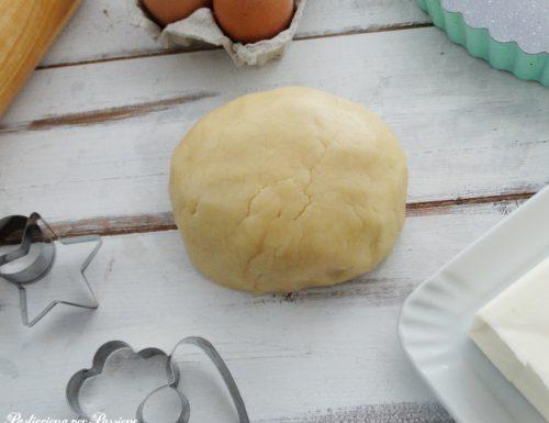 Pasta frolla per biscotti e crostate