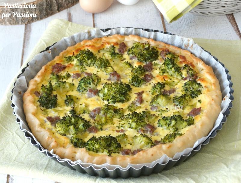 orta salata con broccoli e salsiccia