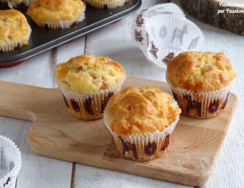 Muffin salati Mortadella e Provola