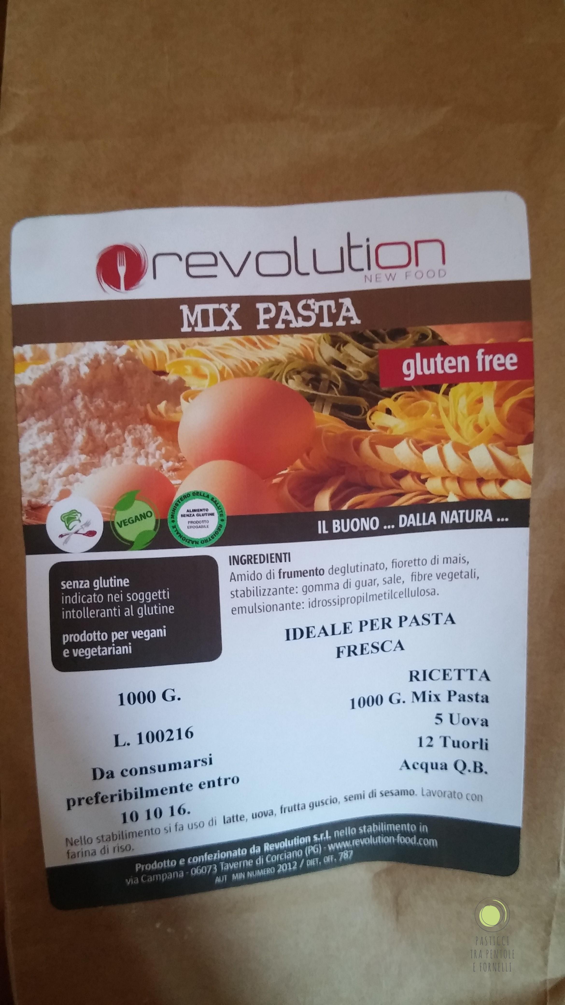 Mix pasta RNF