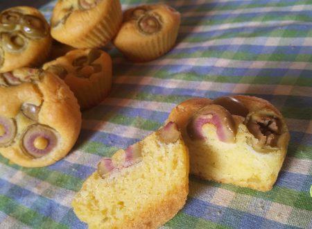 Muffins salati alle olive senza glutine e latte