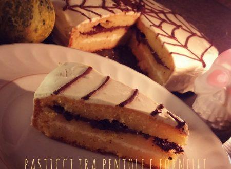 Sembro dolce ma non lo sono: torta alla zucca senza glutine con cioccolato extra dark e crema di brie