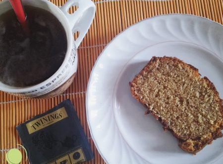 Plumcake semplice senza glutine e burro, con farina di riso