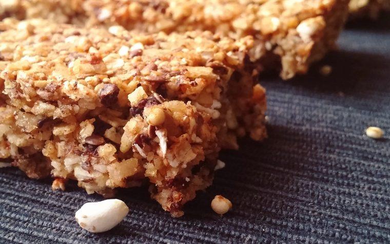 Barrette ai cereali senza glutine