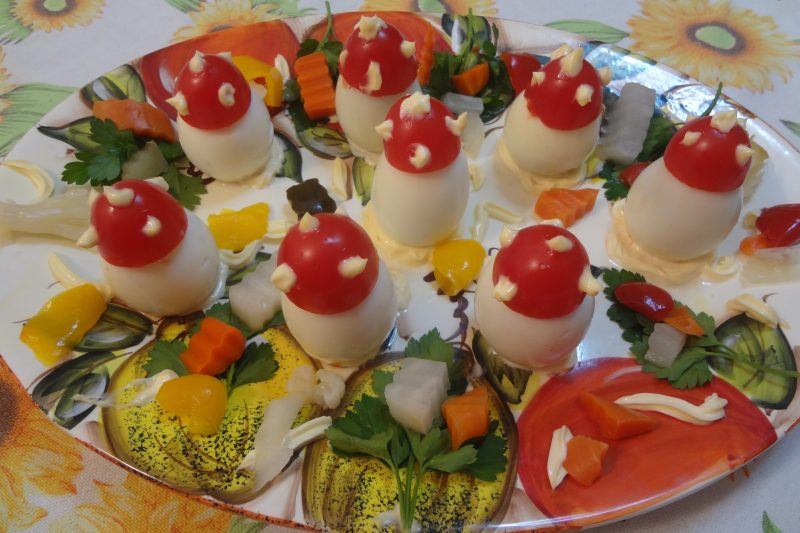 Antipasto freddo di uova