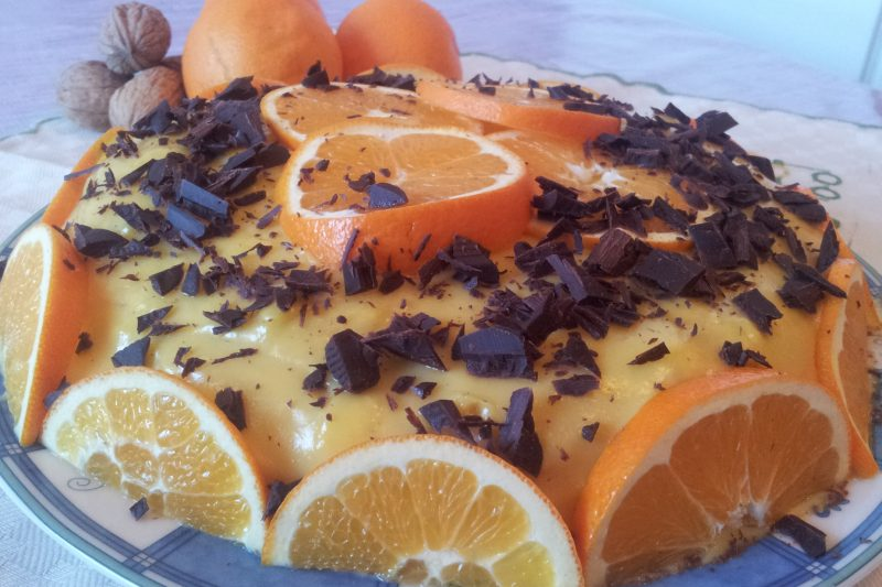 Tortino all'arancia