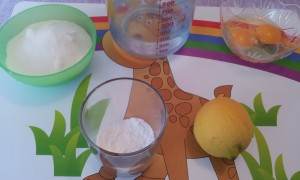 ingredienti  crema al limone