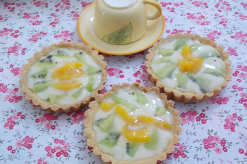 Crostatine di frutta ricetta