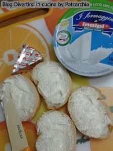 Pane e formaggini Inalpi