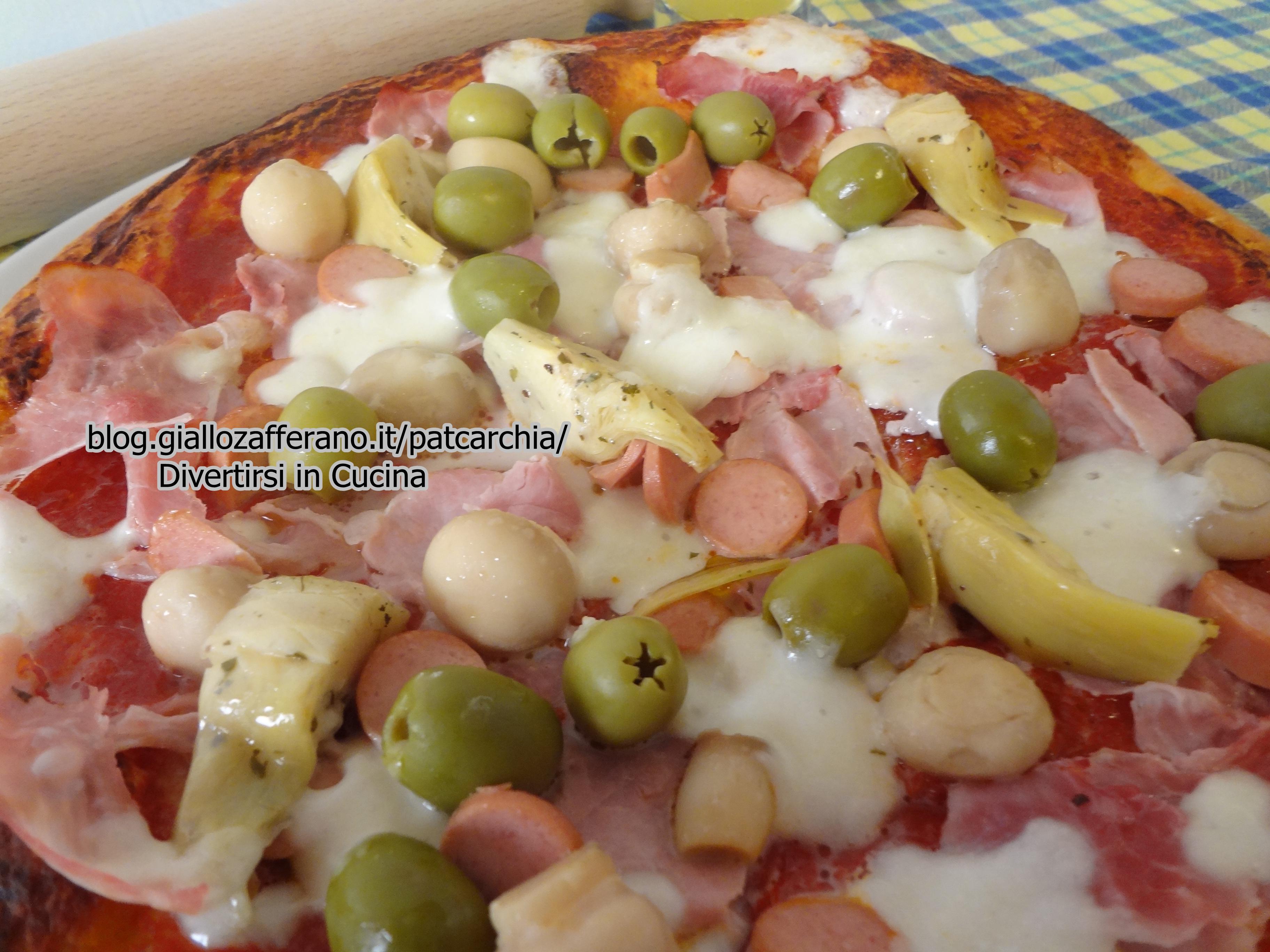 ricetta pizza capricciosa - Cucinare Pizza