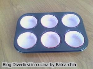 Teglia per muffin con pirottini