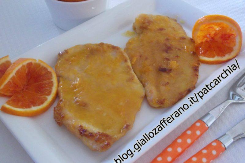 Scaloppine all arancia