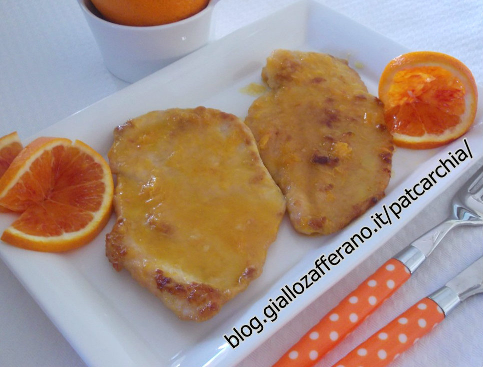 Ricetta scaloppine all arancia divertirsi in cucina