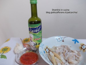 ricetta#pasta con totani e aragostine#blog#divertirsiincucina#patcarchia