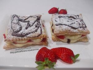 millefoglie alle fragole ricetta blog divertirsi in cucina patcarchia