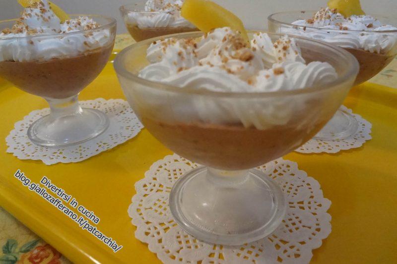 Dessert amaretti e cioccolato