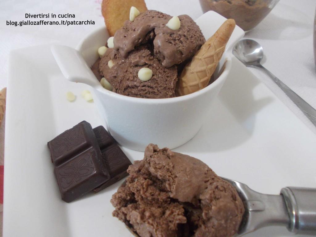 gelato al cioccolato senza gelatiera divertirsi in cucina patcarchia