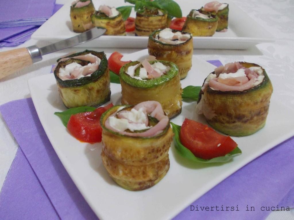 involtini di zucchina ricetta divertirsi in cucina