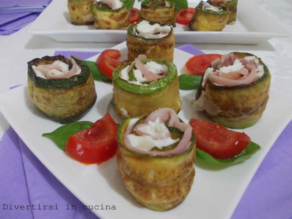 involtini di zucchine ricetta divertirsi in cucina