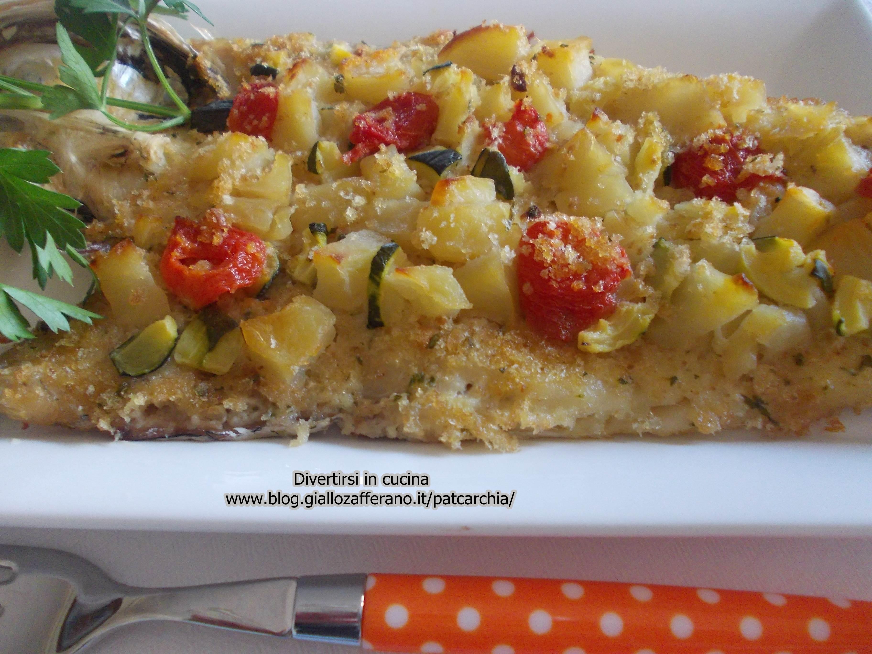 Merluzzi Al Forno Con Verdure Divertirsi In Cucina