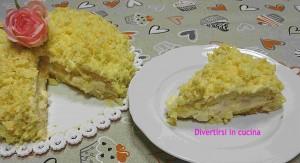 torta mimosa ricetta divertirsi in cucina