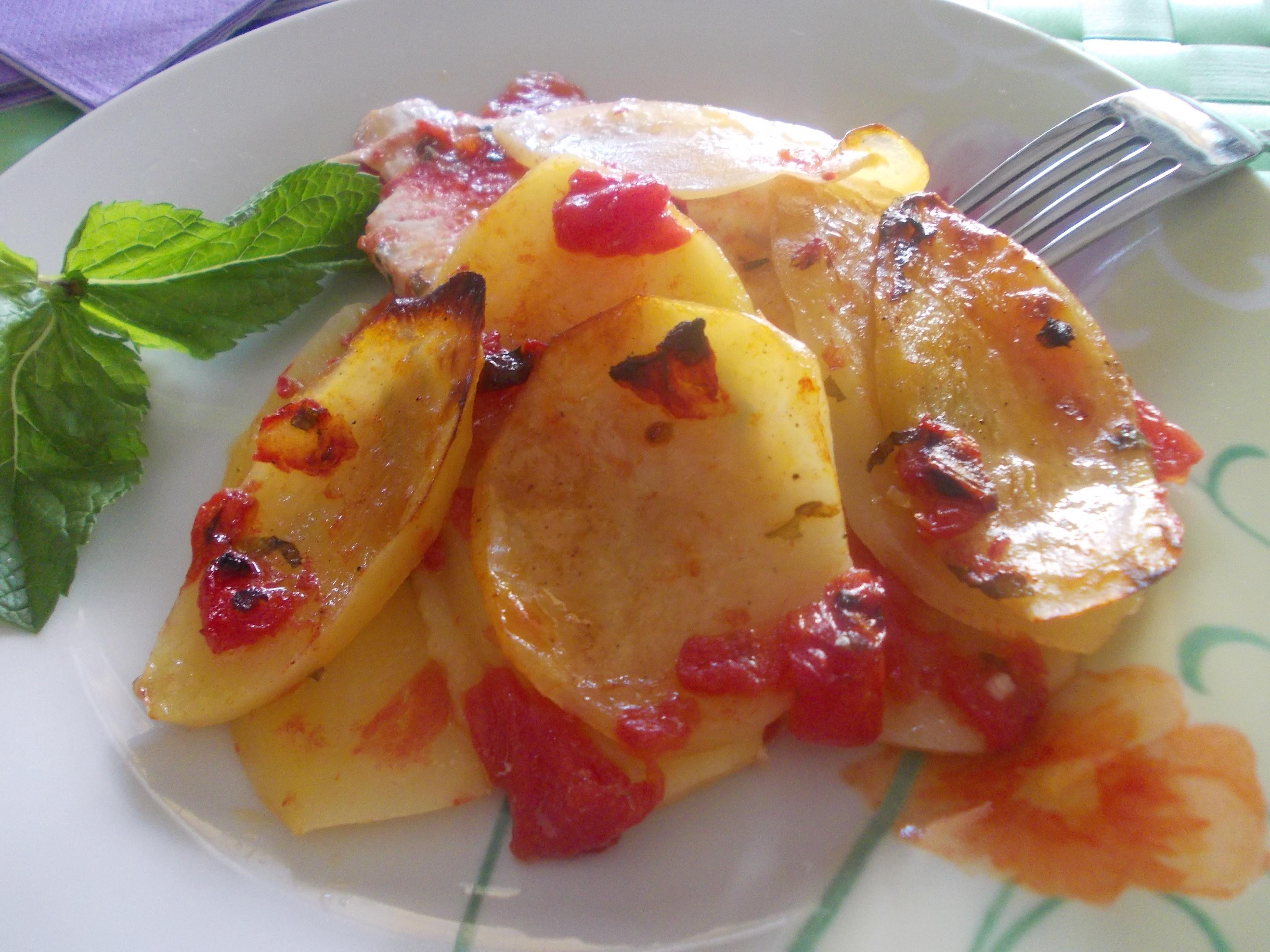 patate al forno con petto di pollo ricetta divertirsi in cucina