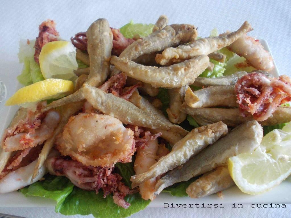 Frittura di pesce ricetta divertirsi in cucina