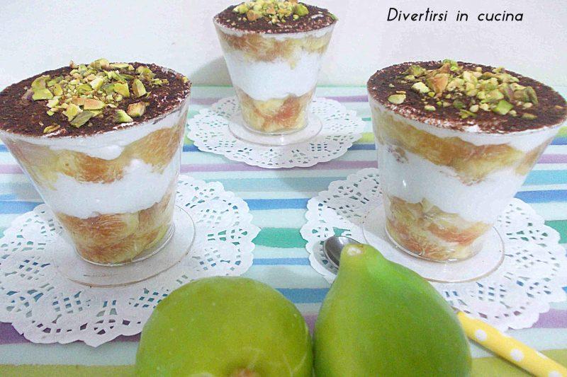 Dessert di fichi