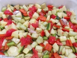verdure miste al forno ricetta divertirsi in cucina