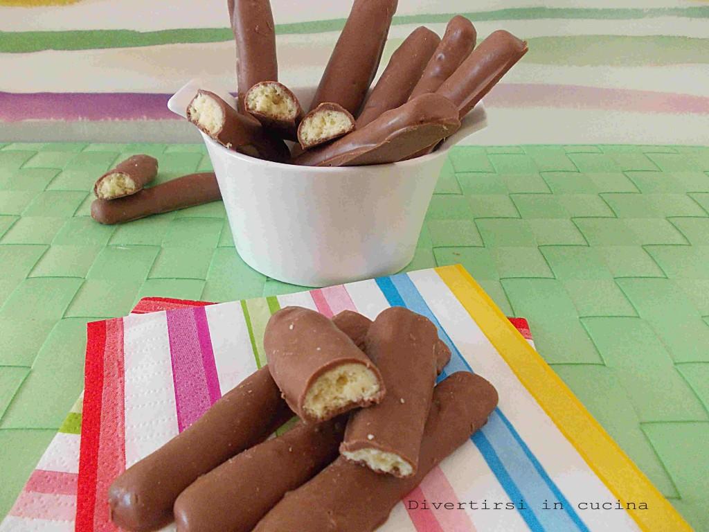 bastoncini di cioccolato ricetta divertirsi in cucina