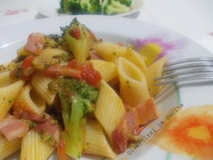 Pasta broccoli e pancetta Ricetta Divertirsi in cucina