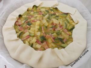 Torta salata con zucchine e pancetta ricetta divertirsi in cucina