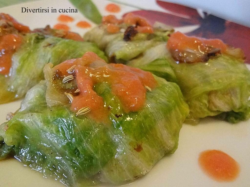Involtini Con Tofu Ricetta Vegana Divertirsi In Cucina #A35C28 1024 768 Ricette Di Cucina Disegni