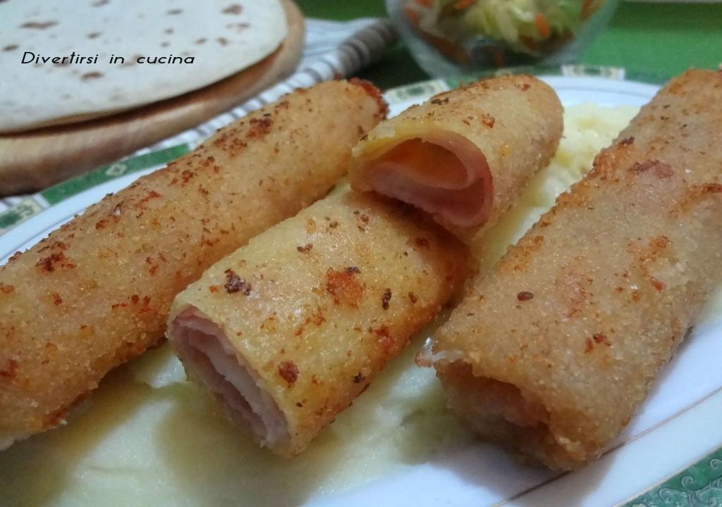 Ricetta cannoli di prosciutto cotto e mozzarella Divertirsi in cucina