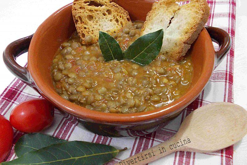 Lenticchie in umido ricetta semplice
