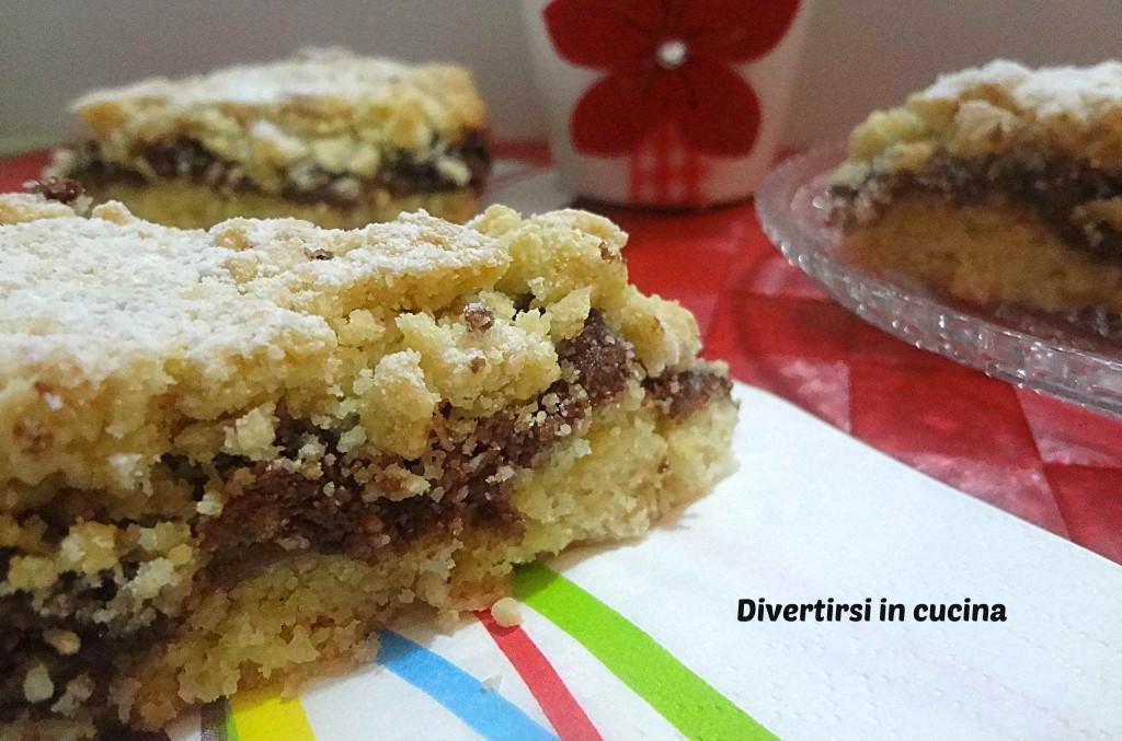 Ricetta torta sbriciolata alla Nutella Divertirsi in cucina