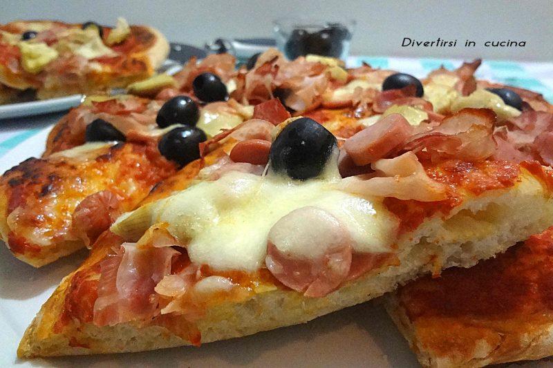 Pizza con pasta madre sana e digeribile