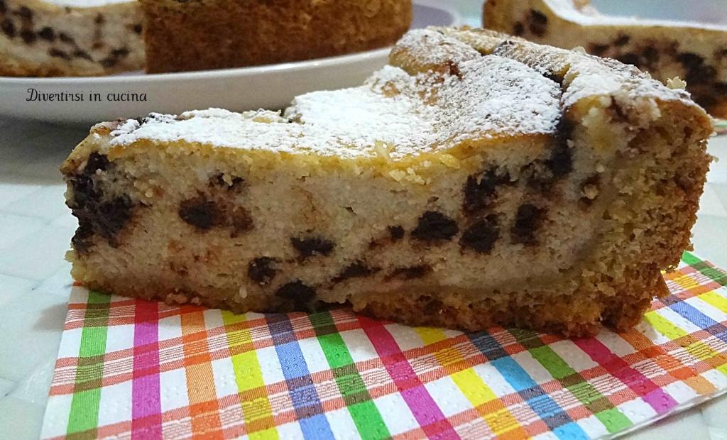 Ricetta torta di ricotta Divertirsi in cucina
