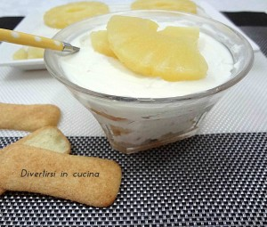 Ricetta tiramisù all'ananas senza uova Divertirsi in cucina