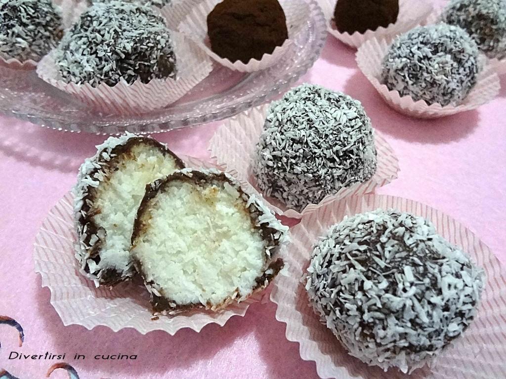 Ricetta tartufini ricotta cacao e cioccolato Divertirsi in cucina