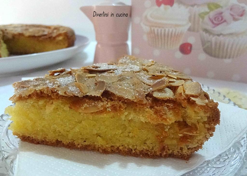 Ricetta torta alle mandorle Divertirsi in cucina