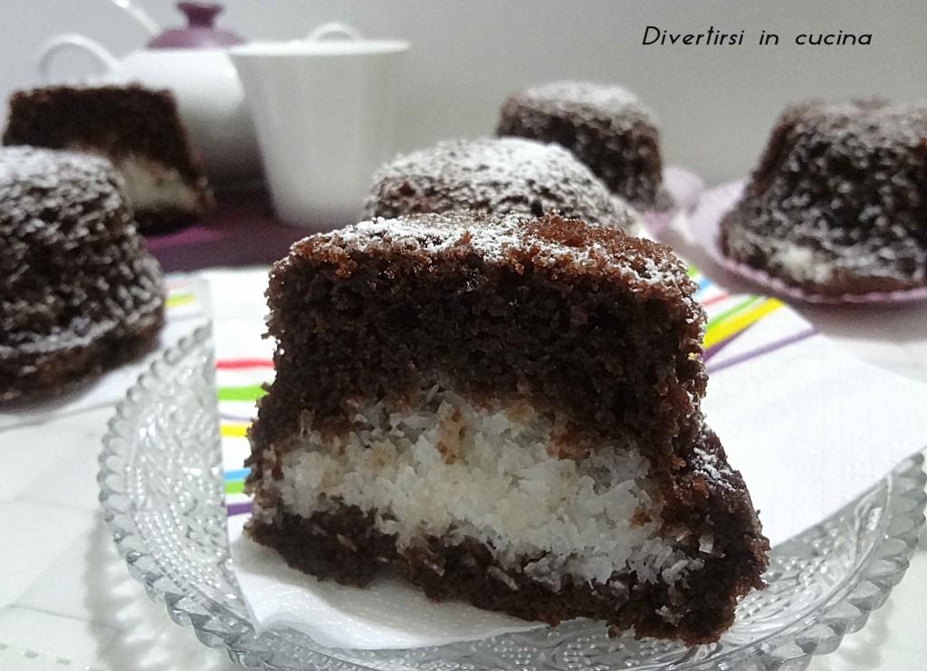 Ricetta muffin al cacao e cocco Divertirsi in cucina