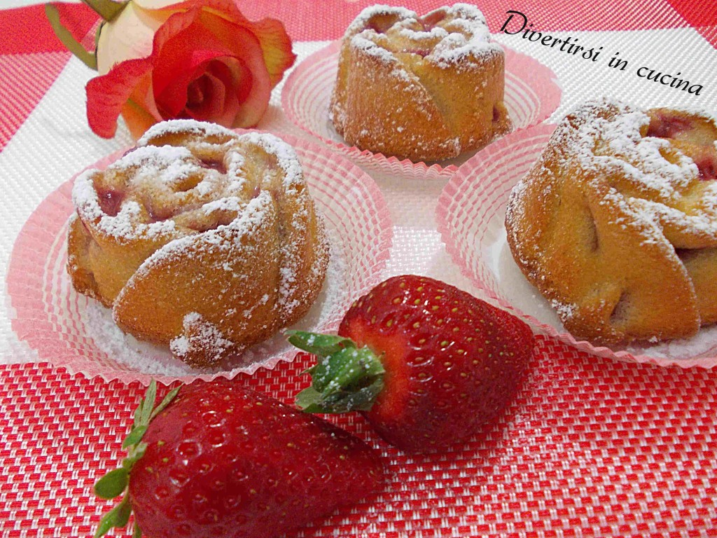 Ricetta muffin alle fragole Divertirsi in cucina