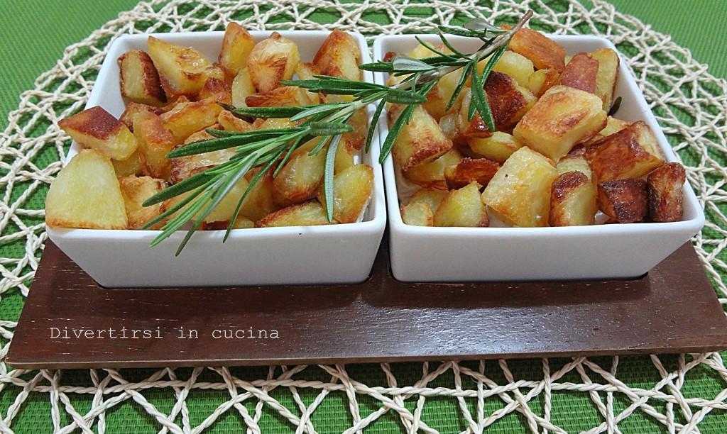 Ricetta patate al forno Divertirsi in cucina