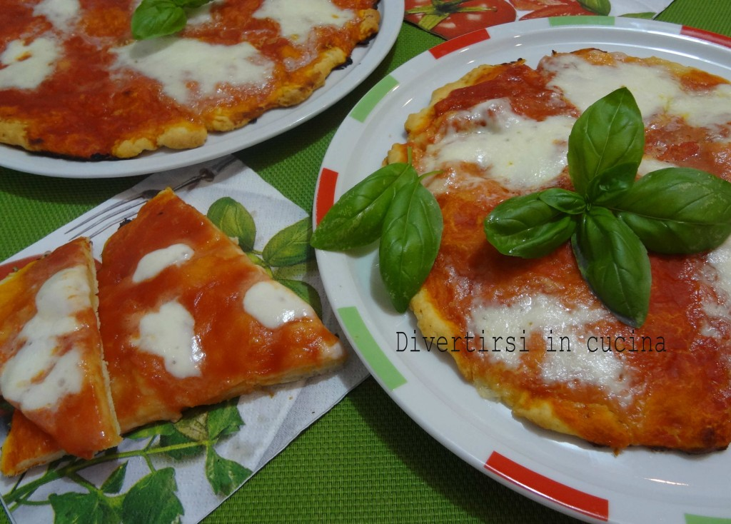 Ricetta pizza veloce senza lievitazione Divertirsi in cucina