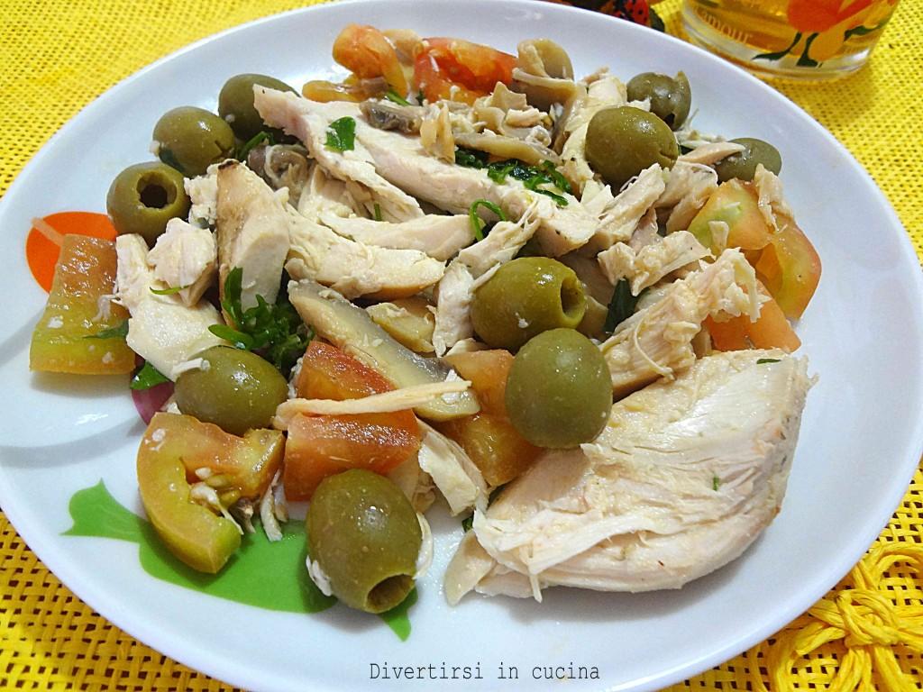 Ricetta insalata di pollo Divertirsi in cucina