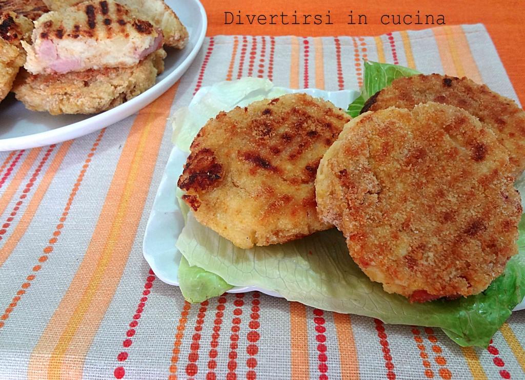 Ricetta hamburger di patate Divertirsi in cucina