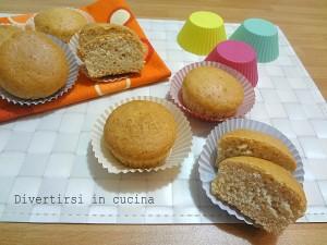 Ricetta muffin senza uova Divertirsi in cucina