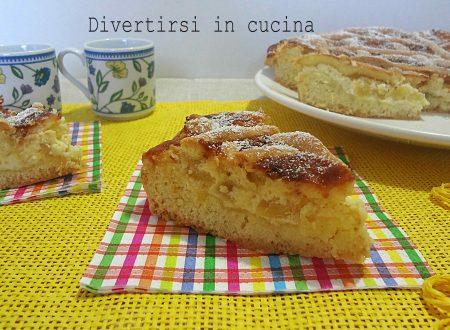 Crostata mascarpone ricotta e ananas